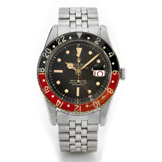 Rolex GMT-Master z 1957 roku / foto: Antiquorum