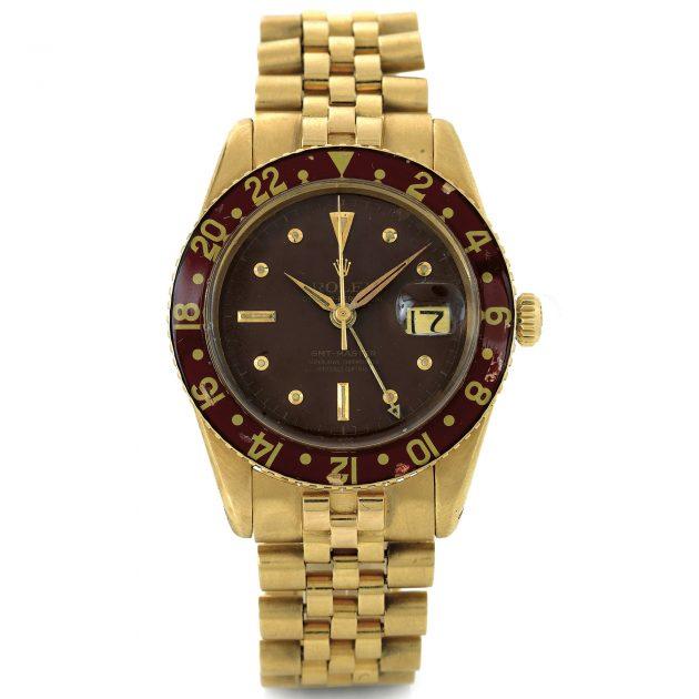 Złoty Rolex GMT-Master z 1958 roku / foto: Antiquorum