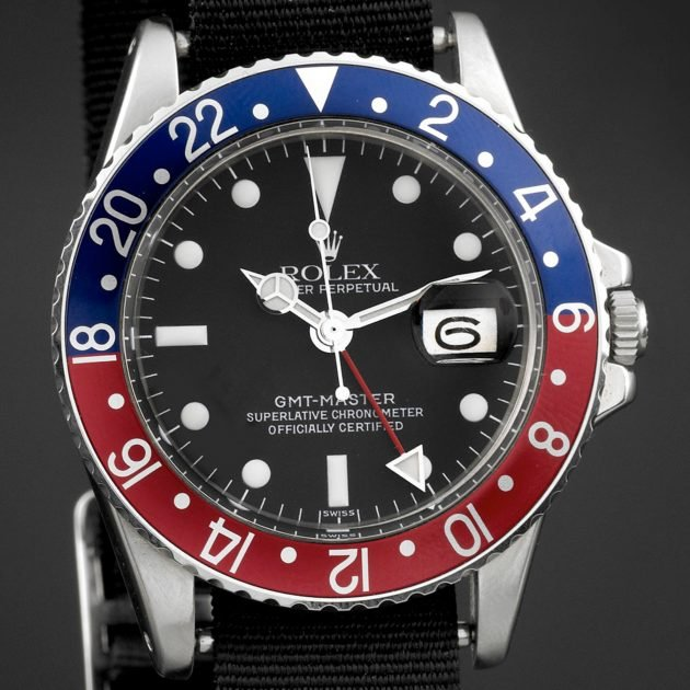 Rolex GMT-Master z 1977 roku / foto: Antiquorum