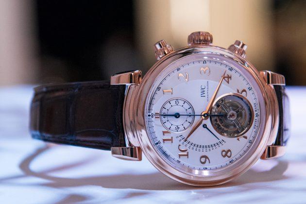 IWC Da Vinci Tourbillon Retrograde Chronograph