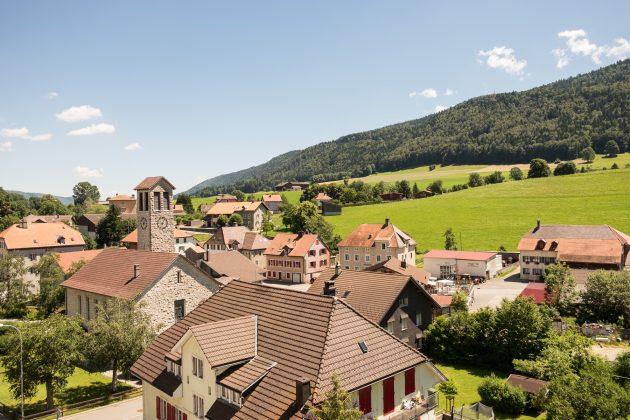 Widok na Villeret