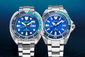 "Seiko Prospex ""Turtle"" i ""Samurai"" Blue Lagoon Limited Edition"