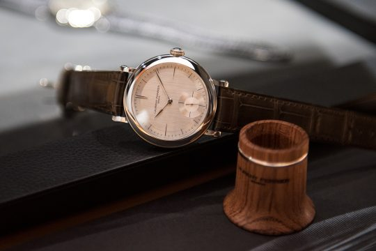 Laurent Ferrier Galet Micro-Rotor Montre Ecole