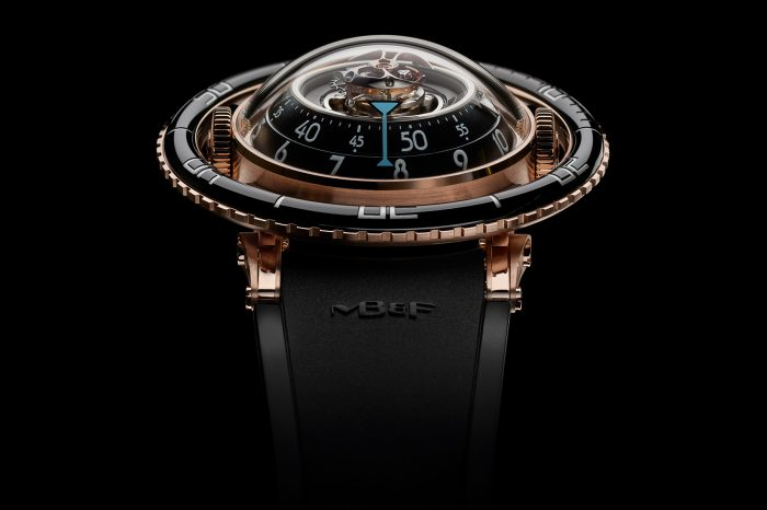 MB&F Horological Machine No.7 Aquapod – SIHH 2017 [zdjęcia live, video, cena]