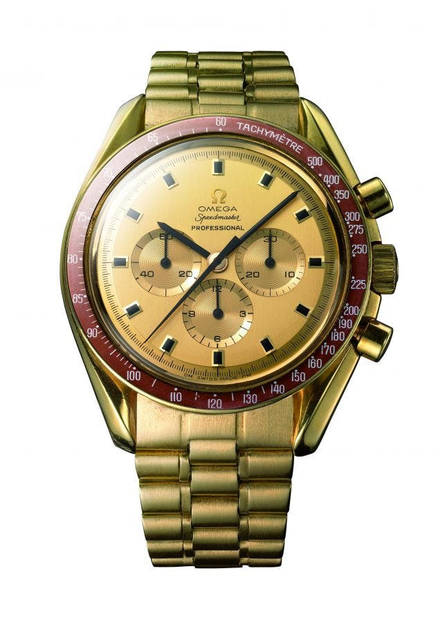 1969 – Speedmaster Apollo XI Gold Commemorative Edition (Ref.BA145.022)