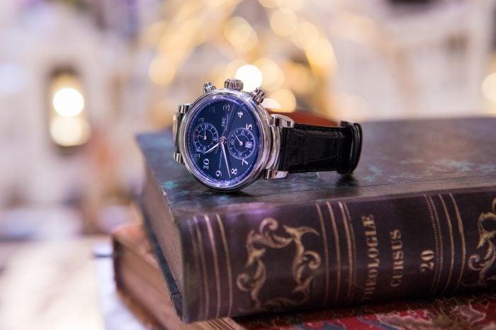 "IWC Da Vinci Chronograph Edition ""Laureus"" – SIHH 2017 [zdjęcia live, cena]"