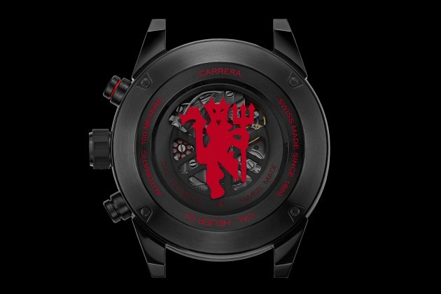 TAG Heuer Carrera Heuer 01 Manchester United