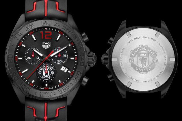 tag heuer formel 1 manchester united