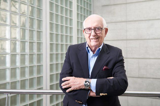 Jack Heuer z zegarkiem Autavia
