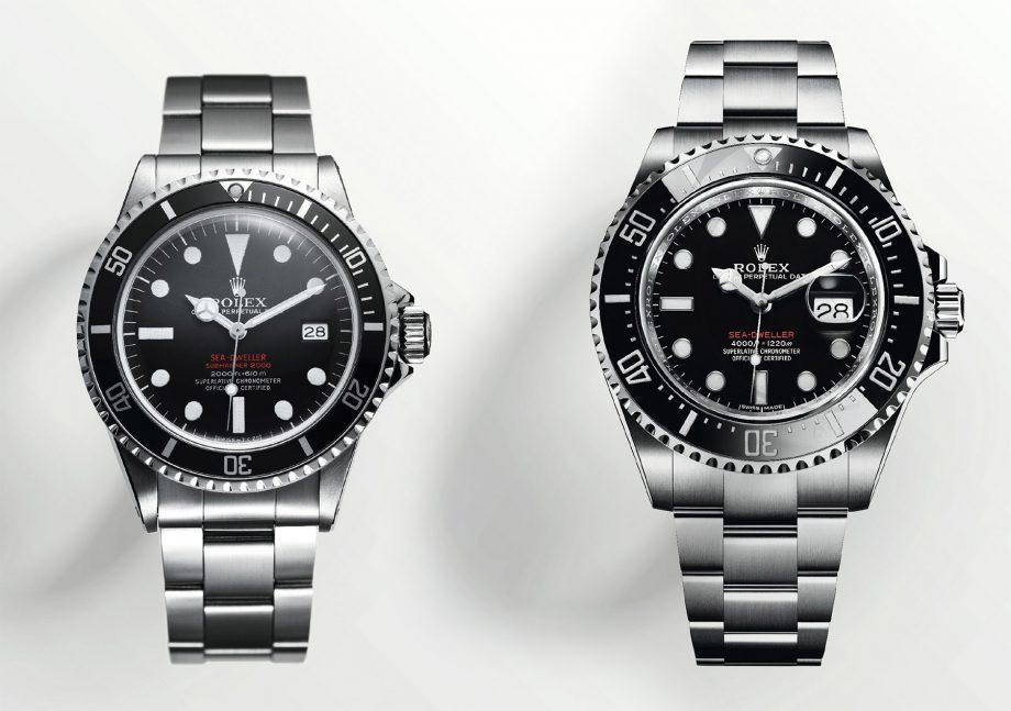 Rolex Sea-Dweller z 1967 i 2017 roku
