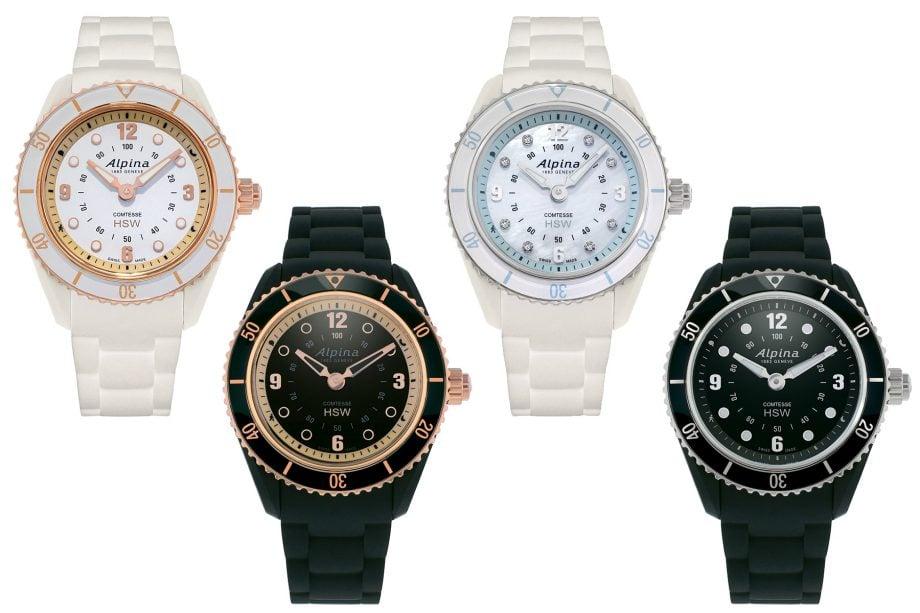 Alpina Comtesse Horological Smartwatch - warianty