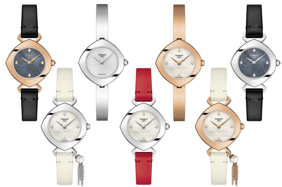 Tissot Femini-T - wersje zegarka