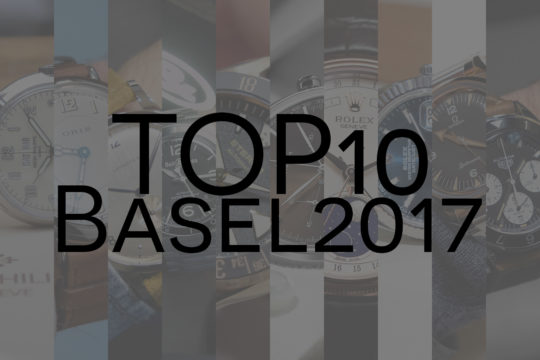 TOP 10 BaselWorld 2017