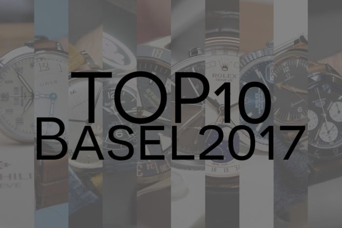 TOP 10 BaselWorld 2017