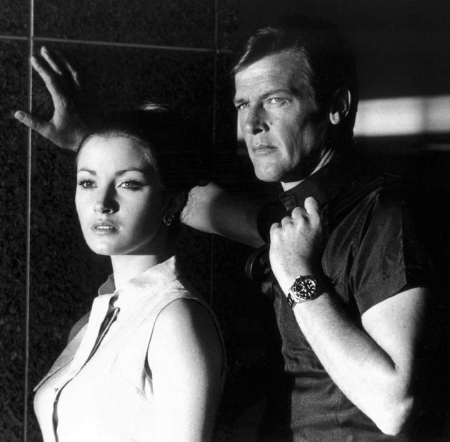 Roger Moore i Jane Seymour / foto: Jake's Rolex World