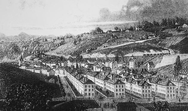 Le Locle - 1865 rok