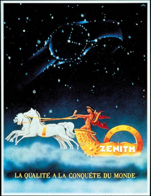 Zenith - reklama z lat 20. XX wieku.