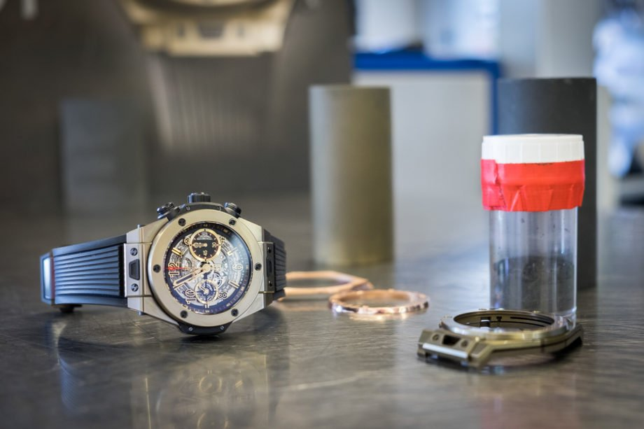Hublot: jak powstaje Magic Gold
