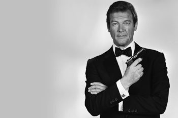 Sir Roger Moore – James Bond / foto: 007.com