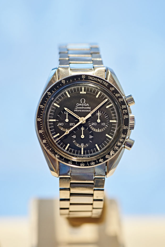 "Speedmaster Moonwatch (First Cal. 861 model – Birth of the ""Moonwatch"" of today) ST 145.022, 1968"