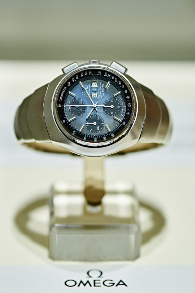 "Speedmaster Speedsonic ST 388.0800 ""Lobster"", 1974"
