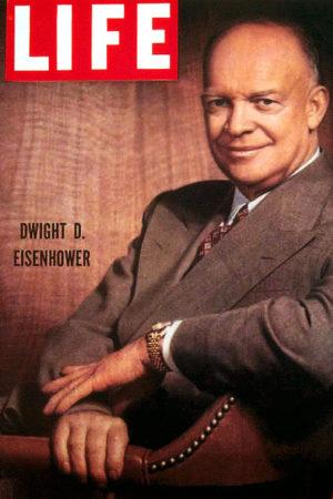 Dwight Eisenhower na okładce magazynu Life w 1952 roku / foto: rolexmagazine.com