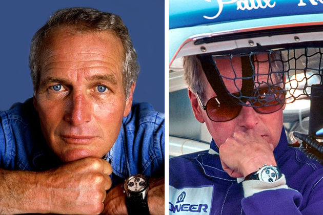Paul Newman i jego Daytona / Foto: Jake's Rolex World