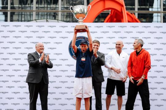 Martyn Pawelski zwycięzcą Longines Future Tennis Aces