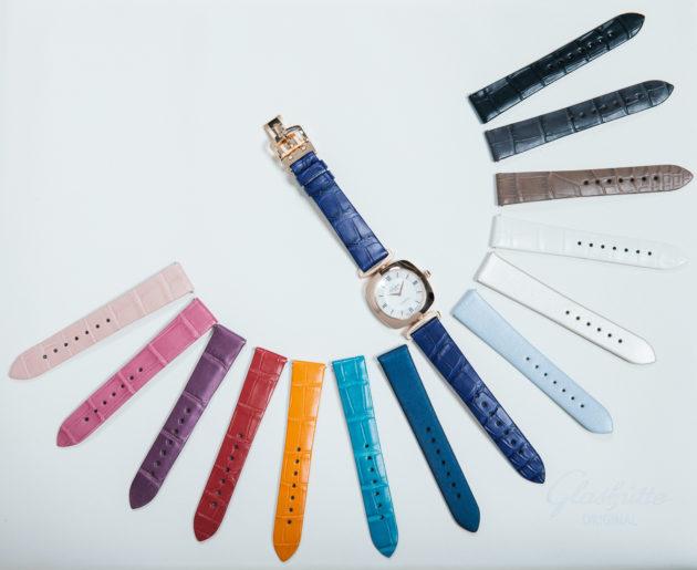 Glashütte Original Pavonina - różne kolory pasków do zegarka