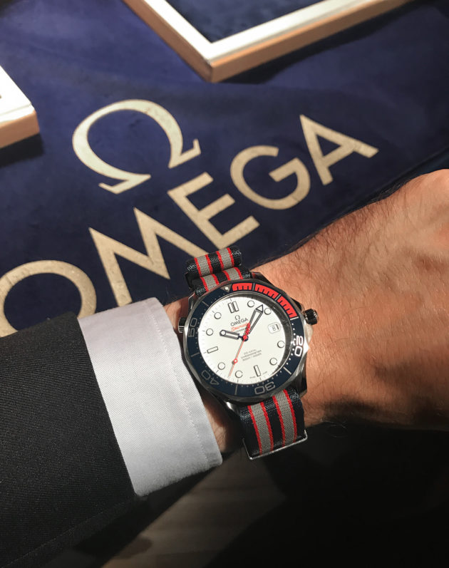 "Omega Seamaster Diver 300 M ""Commander's Watch"""