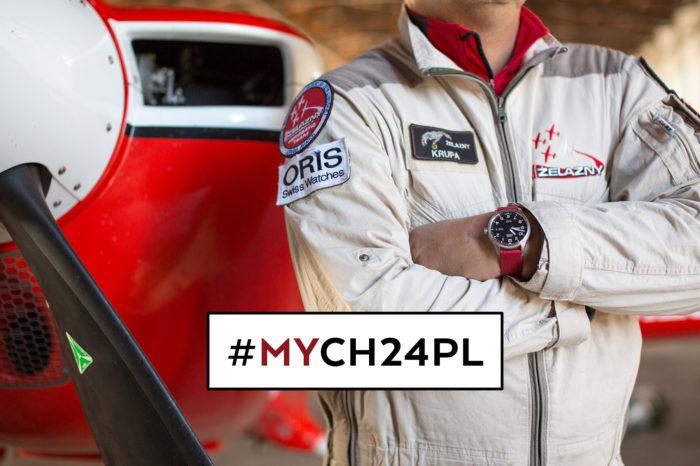 """#myCH24PL – zrób zdjęcie zegarka i wygraj niesamowity lot z Grupą Akrobacyjną """"Żelazny""""!"""