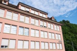 Siedziba firmy Oris w Hölstein