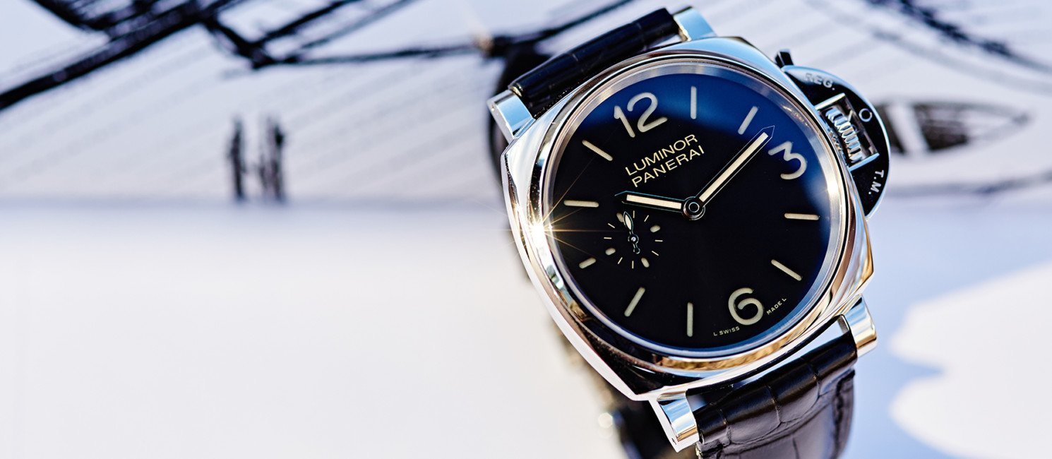 Panerai Luminor Due 3 Days Acciaio