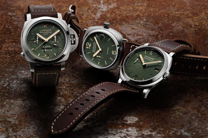 Nowe zegarki Panerai Radiomir i Luminor – teraz z zielonymi tarczami