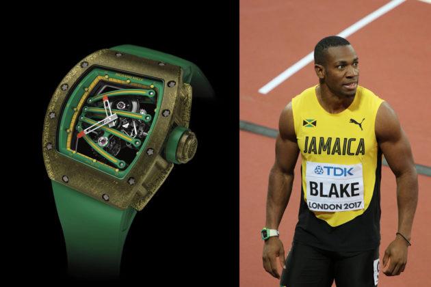 Richard Mille RM 59-01 i Yohan Blake