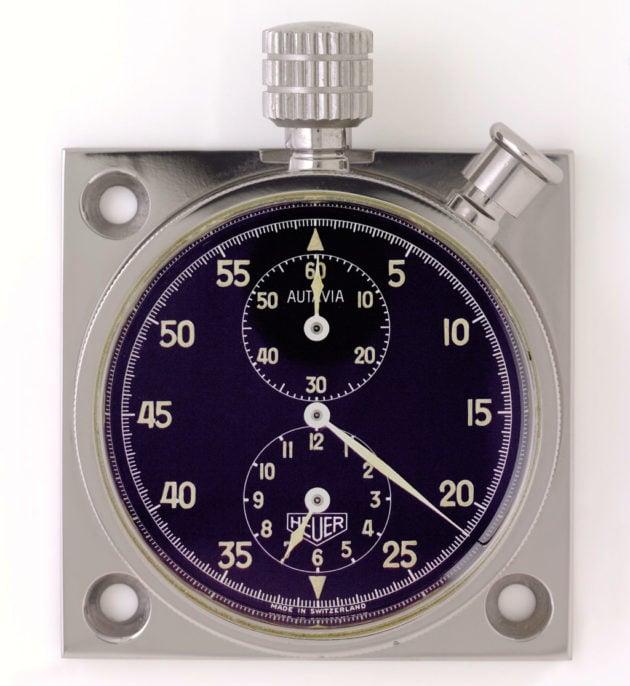 kokpitowy zegar Autavia / foto: calibre11.com
