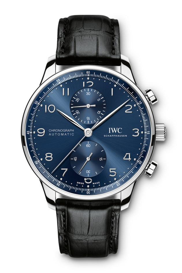 IWC Portugieser Chronograph Blue