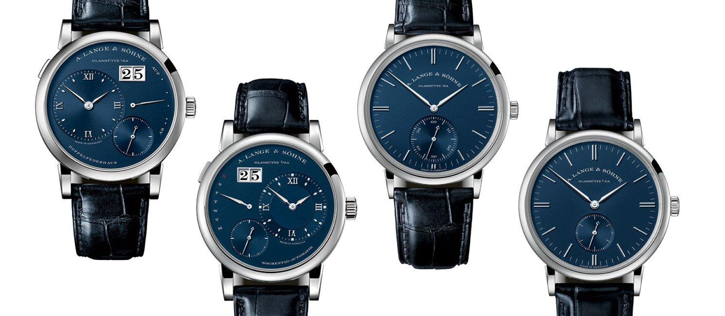 A. Lange & Söhne z niebieskimi tarczami [dostępność, cena]