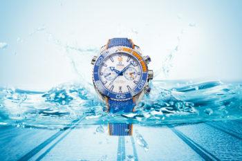 "Omega Seamaster Planet Ocean ""Michael Phelps"""