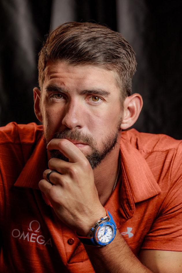 Michael Phelps i jego Omega Seamaster Planet Ocean