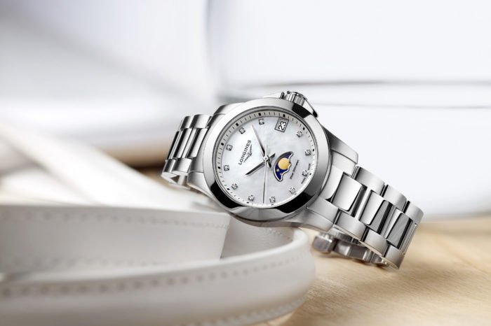 Longines Conquest Moonphase Ladies