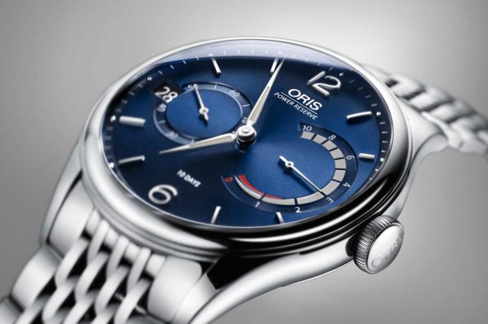 Oris Artelier Calibre 111 w wersji z niebieską tarczą [cena]