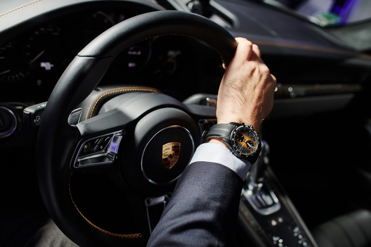 Porsche Design Chronograph 911 Turbo S Exclusive Series
