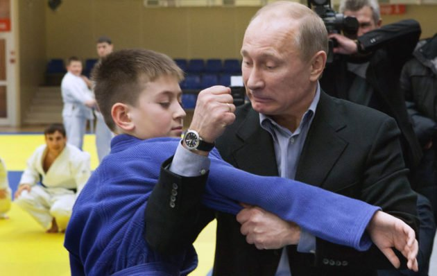 Vladimir Putin and his watches / photo: Agence France Presse