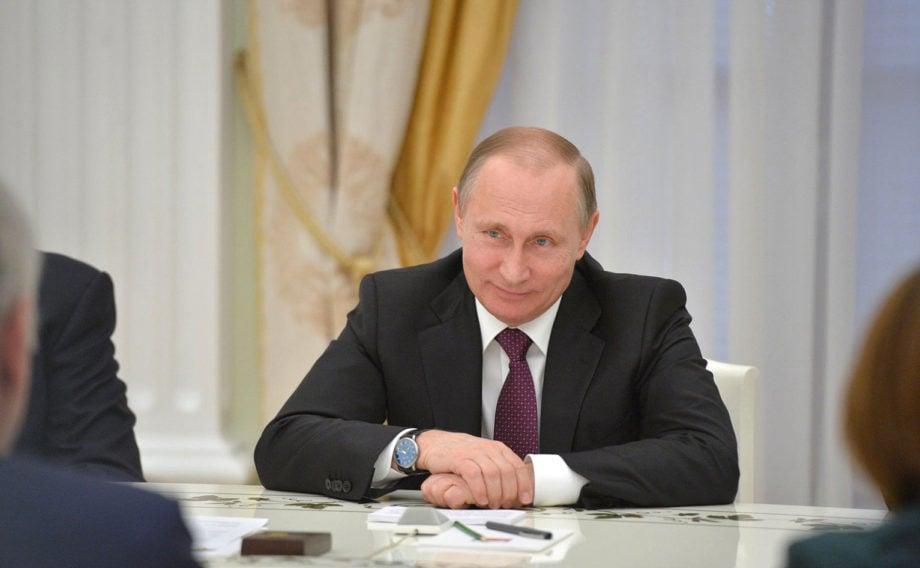 Władimir Putin i jego zegarki / foto: YouTube screenshot