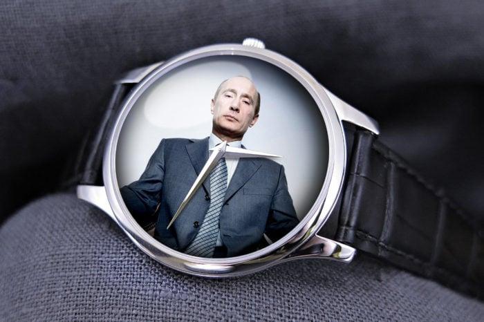 Timebloid 5 zegarków Władimira Putina przekraczających jego oficjalne, roczne zarobki