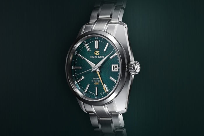 "Grand Seiko Hi-Beat 36.000 GMT ""Peacock"""