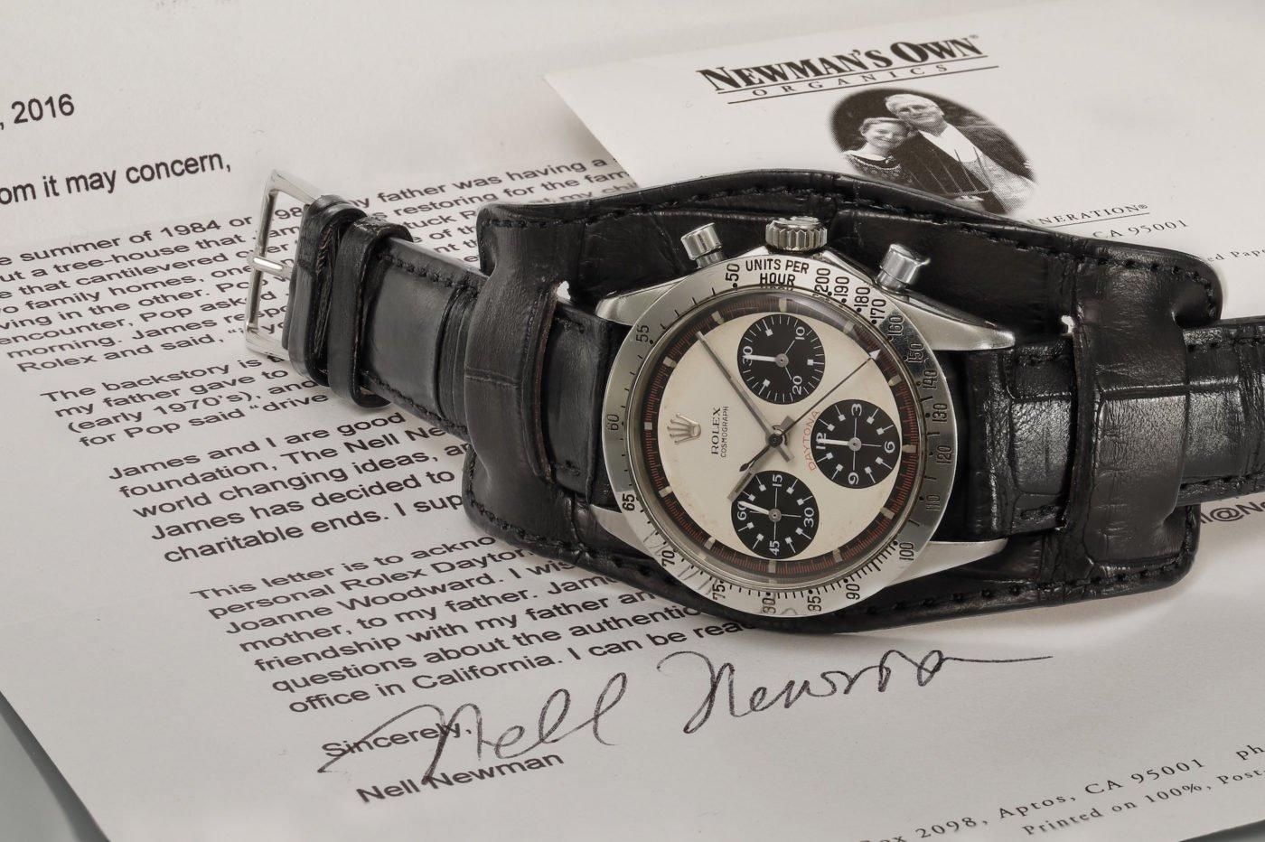 Rolex Daytona Paula Newmana najdroższym zegarkiem w historii – sprzedany za 17.752.000USD(!)