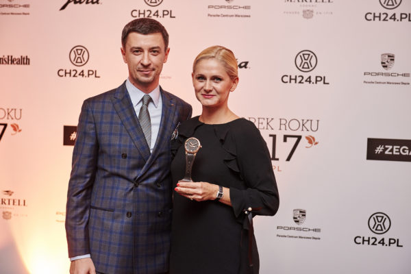 Tomasz Kiełtyka i Agnieszka Ławniczak (Tissot)