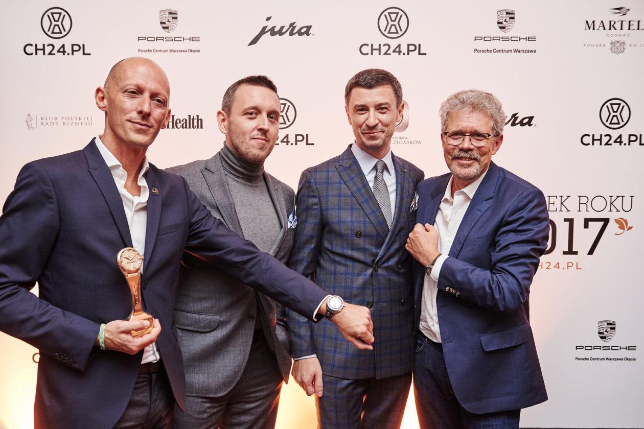 Zegarek Roku 2017 - Marco Borraccino (Singer), Łukasz Doskocz, Tomasz Kiełtyka, Jean-Marc Wiederrecht (Agenhor)